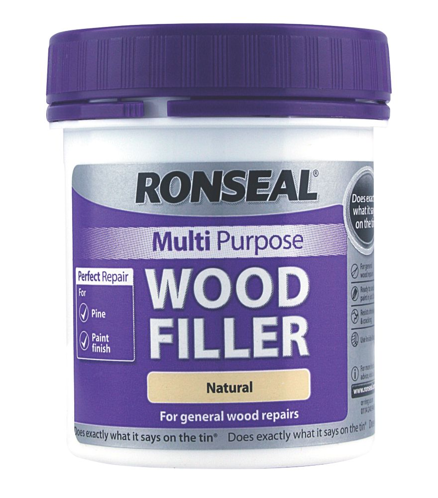 Ronseal Multipurpose Wood Filler Natural 250g