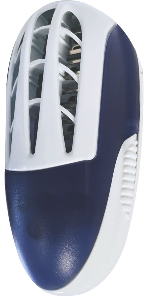 Pest-Stop PSIIPK Plug-In LED Insect Fly Killer White / Blue 4W