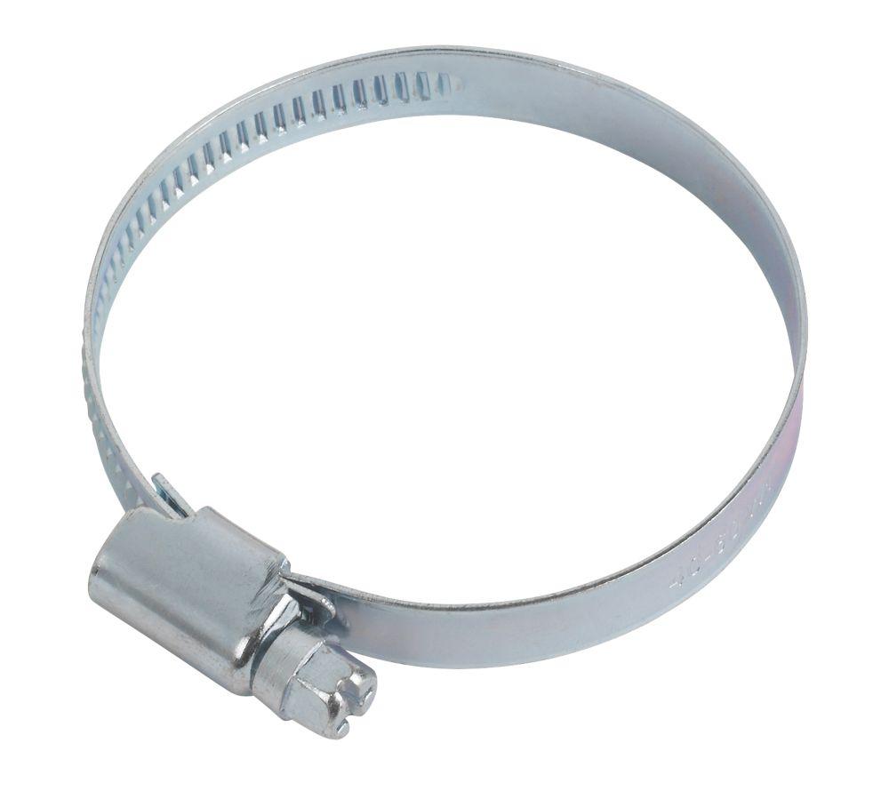 Easyfix Blue Zinc-Plated Hose Clips 40-60mm 10 Pack