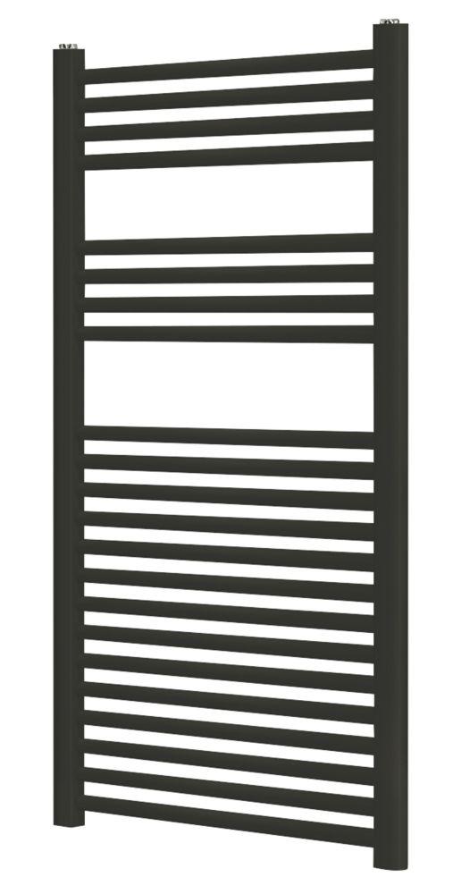 Blyss  Towel Radiator  1100 x 500mm Black 1667BTU