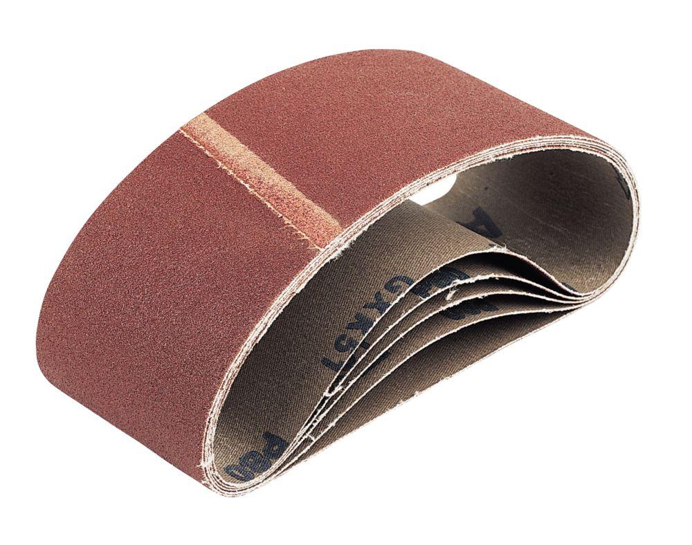 Cloth Sanding Belts Unpunched 457 x 75mm 120 Grit 5 Pack