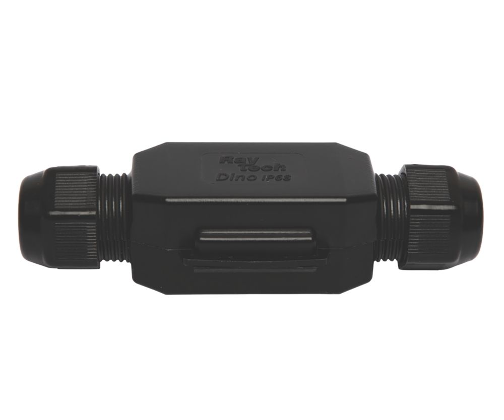 Raytech Dino-N Gel-Filled Straight Cable Joint Black