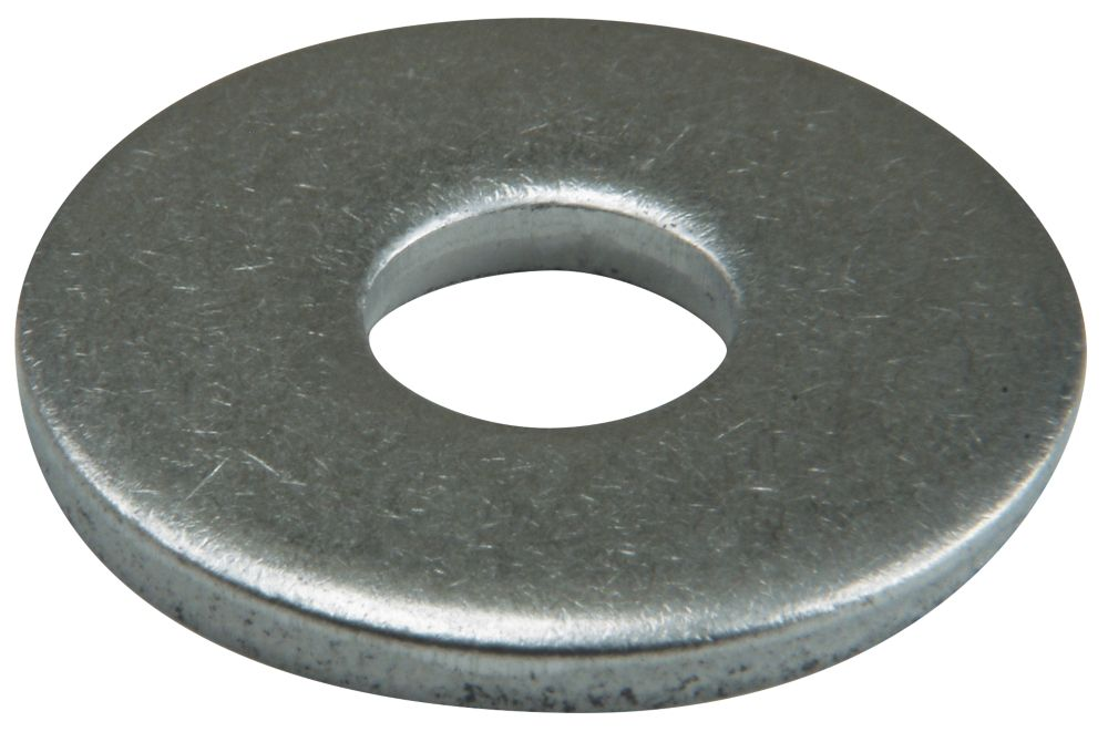 Easyfix A2 Stainless Steel Large Flat Washers M8 x 2mm 50 Pack