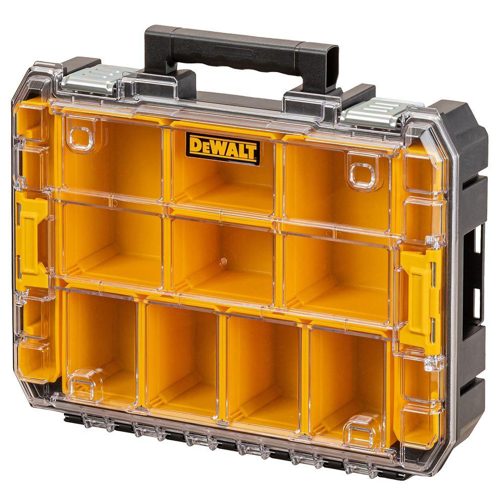 "DeWalt TSTAK 2.0 Watersealed Organiser Unit 4½ x 13"""