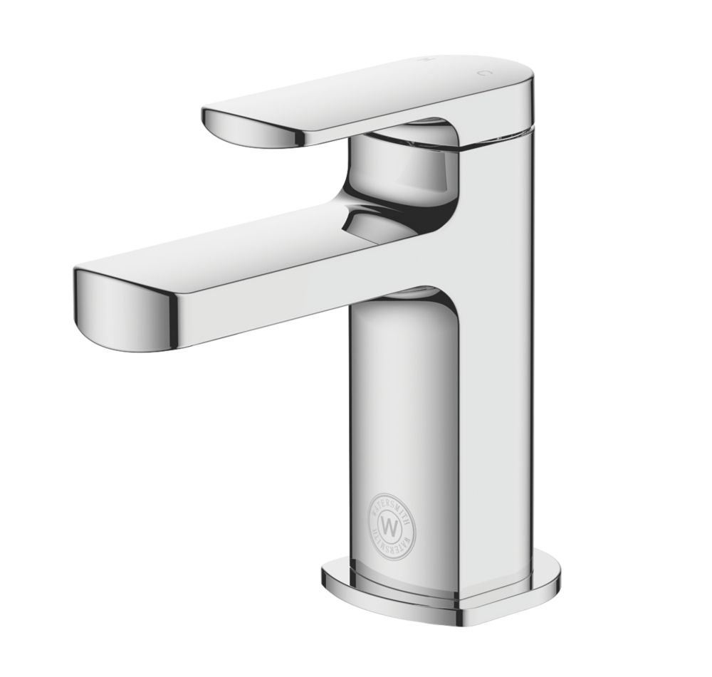 Watersmith Heritage Clyde Basin Mini Mono Mixer Tap with Clicker Waste