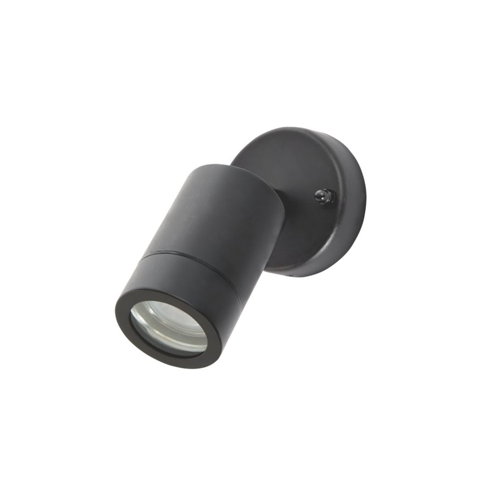 LAP Bronx Adjustable Outdoor Wall Light Black