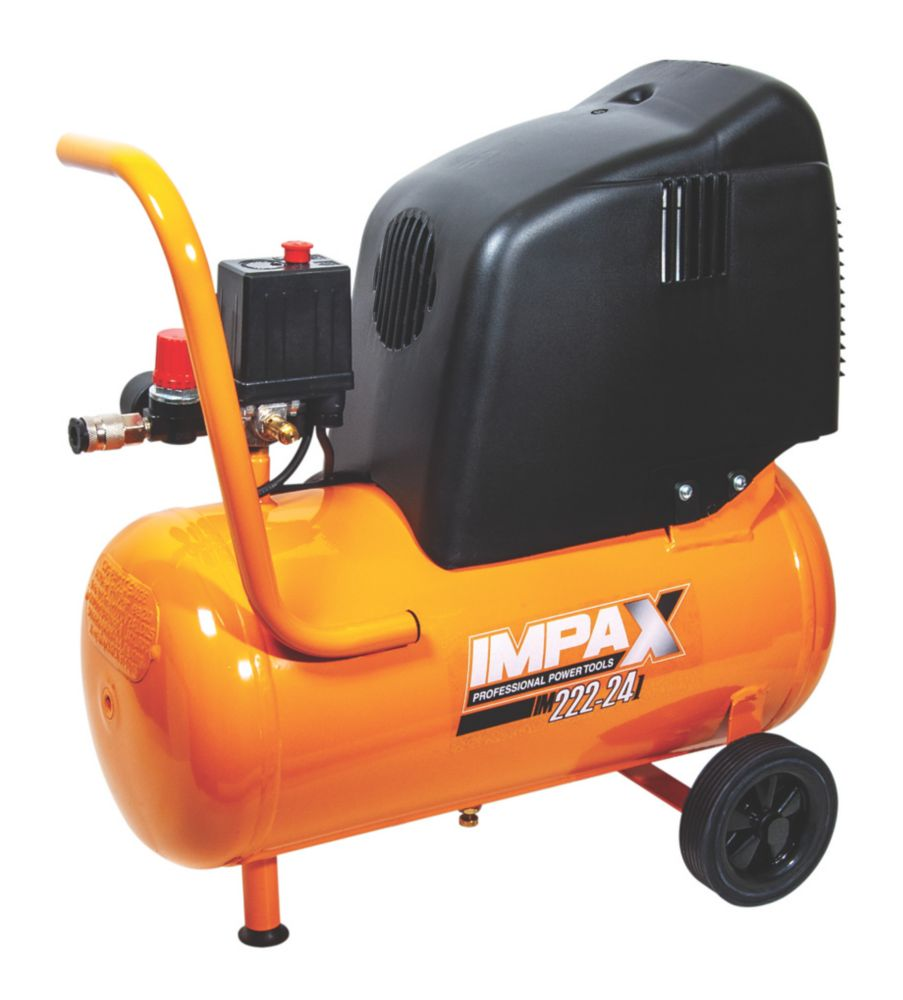 IMPAX OM227-24 CM2 PROE3625 24Ltr Electric Air Compressor 230V