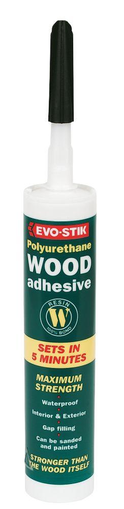Evo-Stik Polyurethane Wood Adhesive 310ml