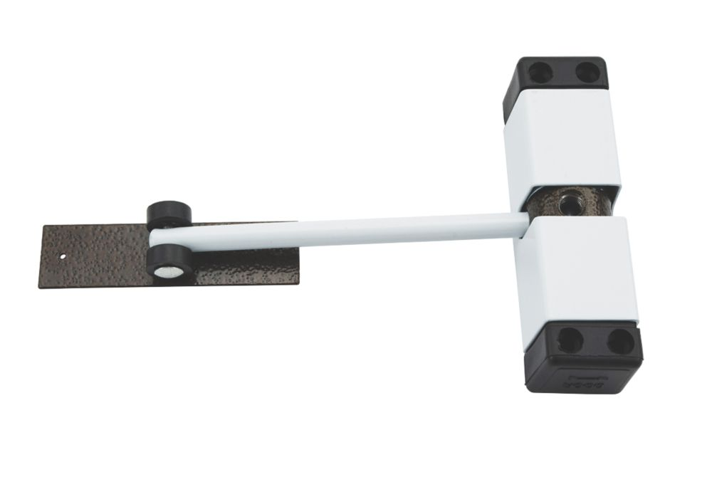 Surface-Mounted Door Closer White