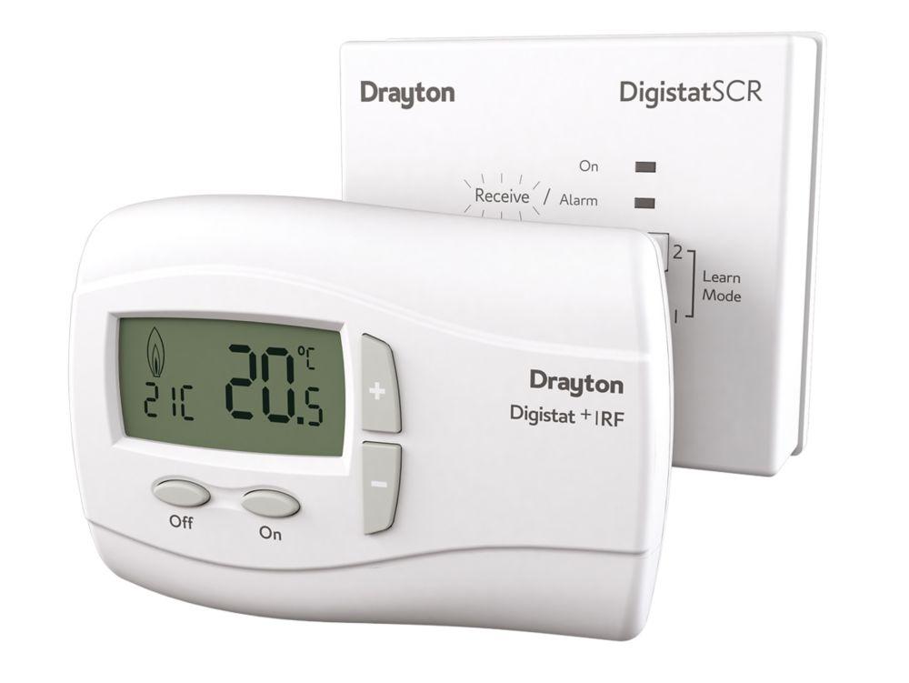 Drayton Digistat+1RF Room Thermostat