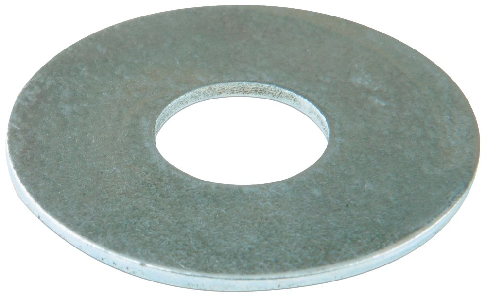 Easyfix Steel Large Flat Washers M6 x 1.6mm 100 Pack