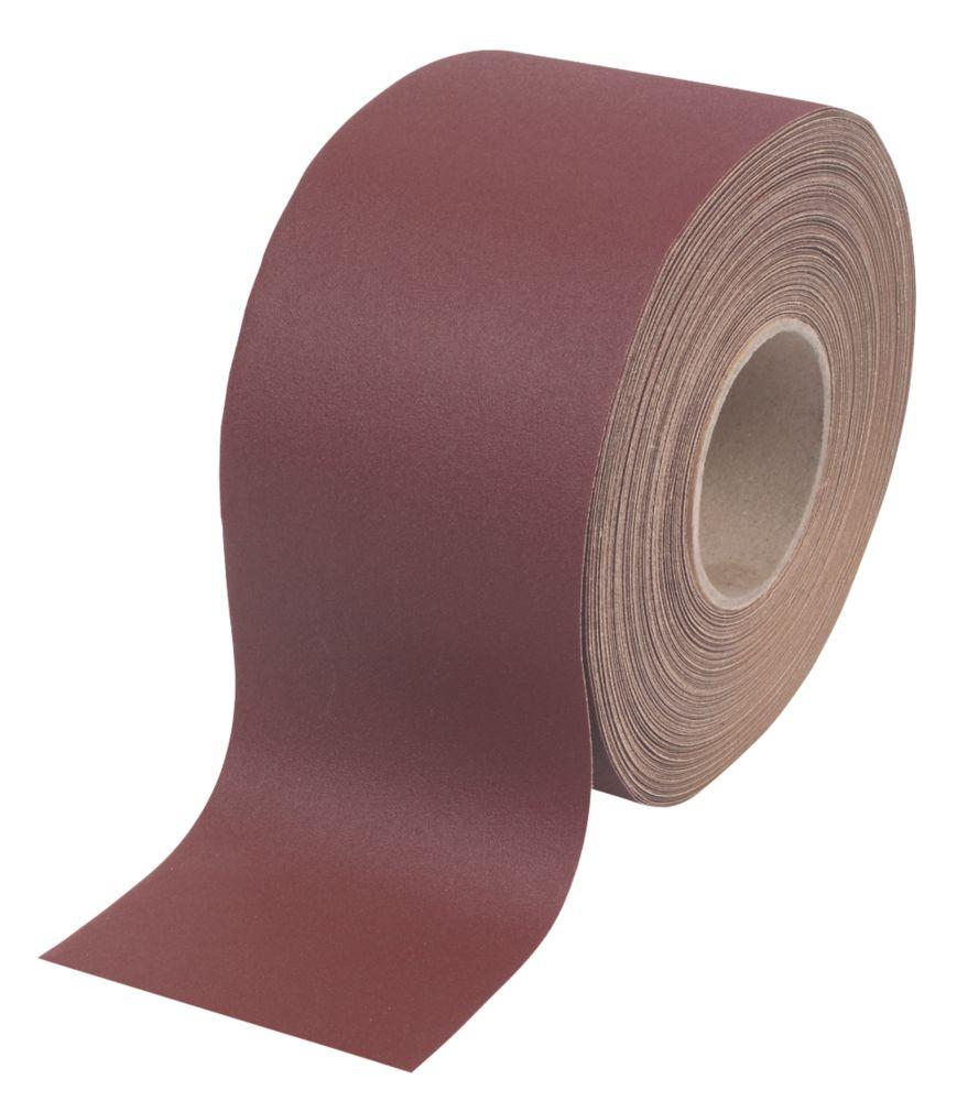 Flexovit Aluminium Oxide Sanding Roll Unpunched 25m x 115mm 60 Grit