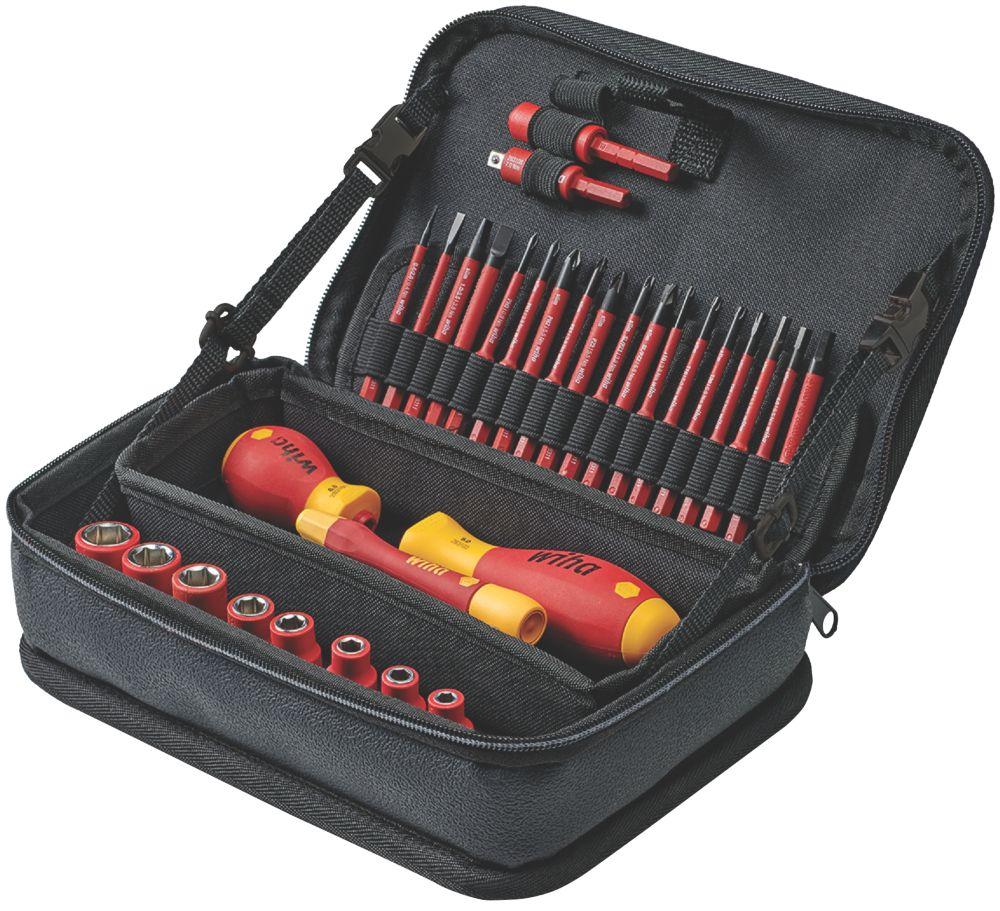Wiha SlimVario Electric Tool Set 31 Pieces