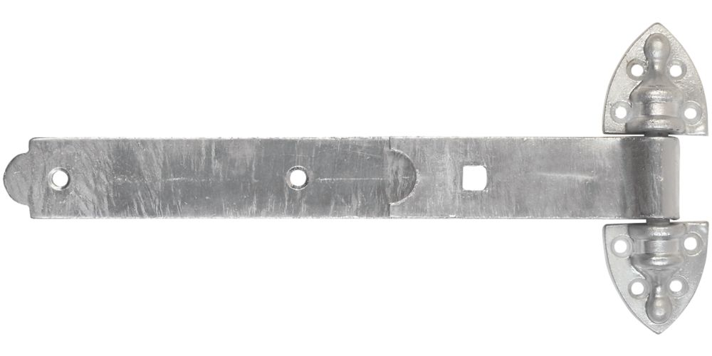Smith & Locke Heavy Duty Reversible Gate Hinges Hot Spectra Galvanised 25 x 300 x 145mm 2 Pack