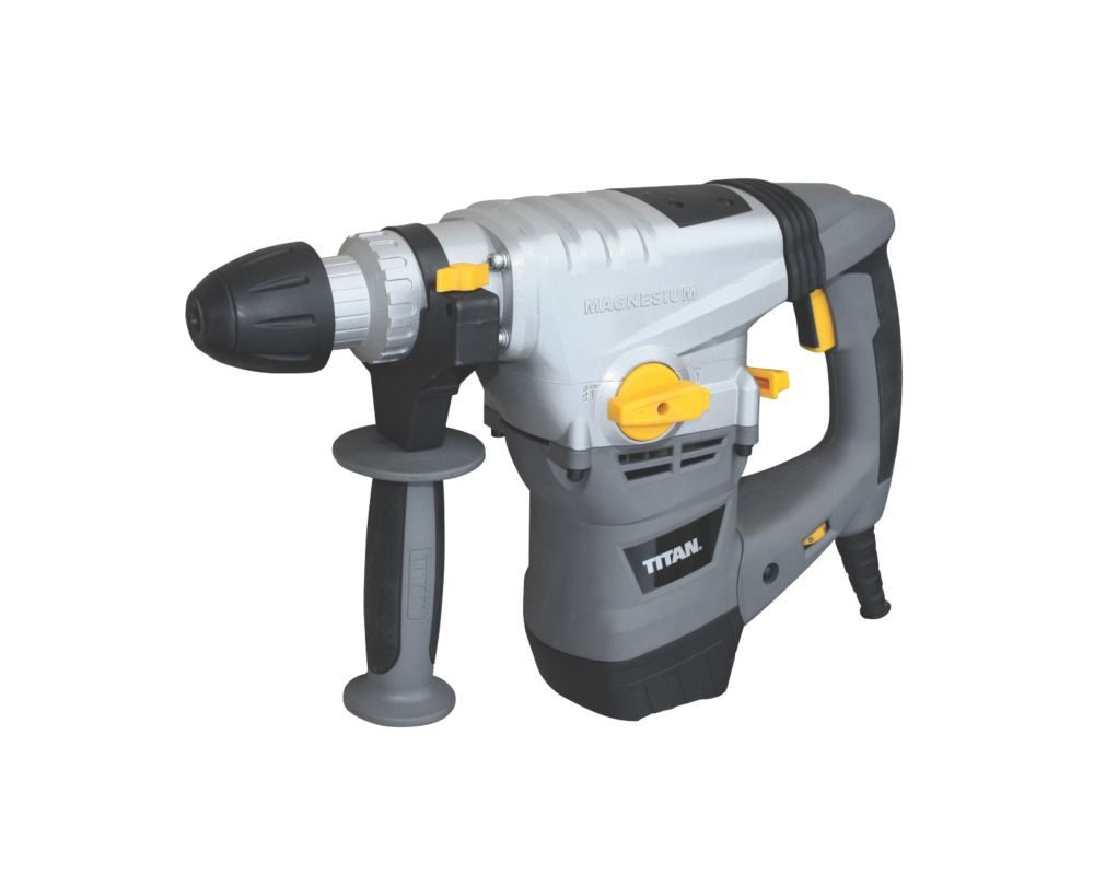 Titan TTB631SDS 6.3kg Electric  SDS Plus Drill & 22 Piece Accessory Kit 230-240V