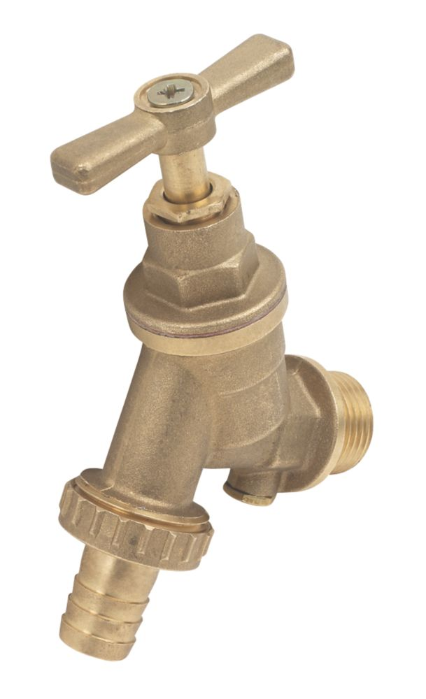 Outside Tap with Hose Union 15mm x ½""