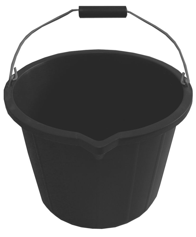 Active Plastic Buckets 14Ltr 5 Pack