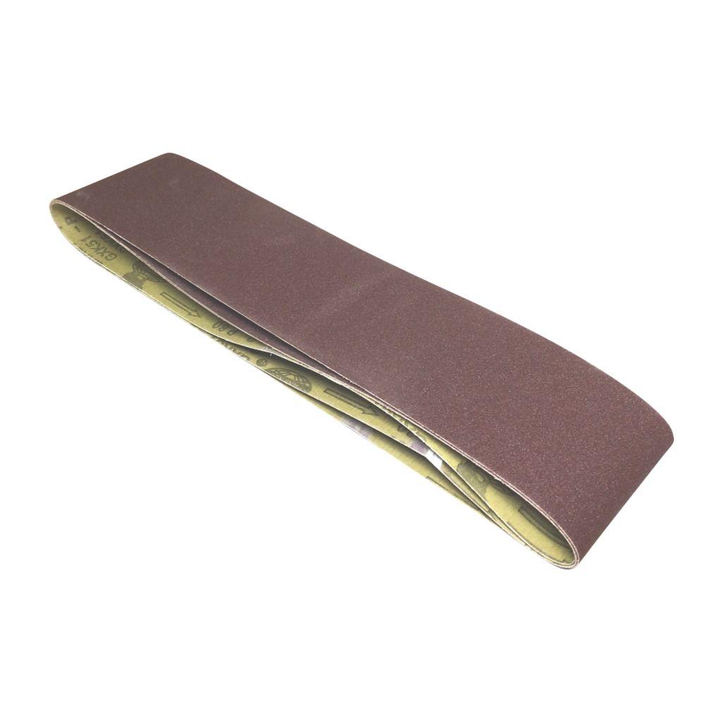 Scheppach Sanding Belts Unpunched 914 x 100mm 120 Grit 3 Pack