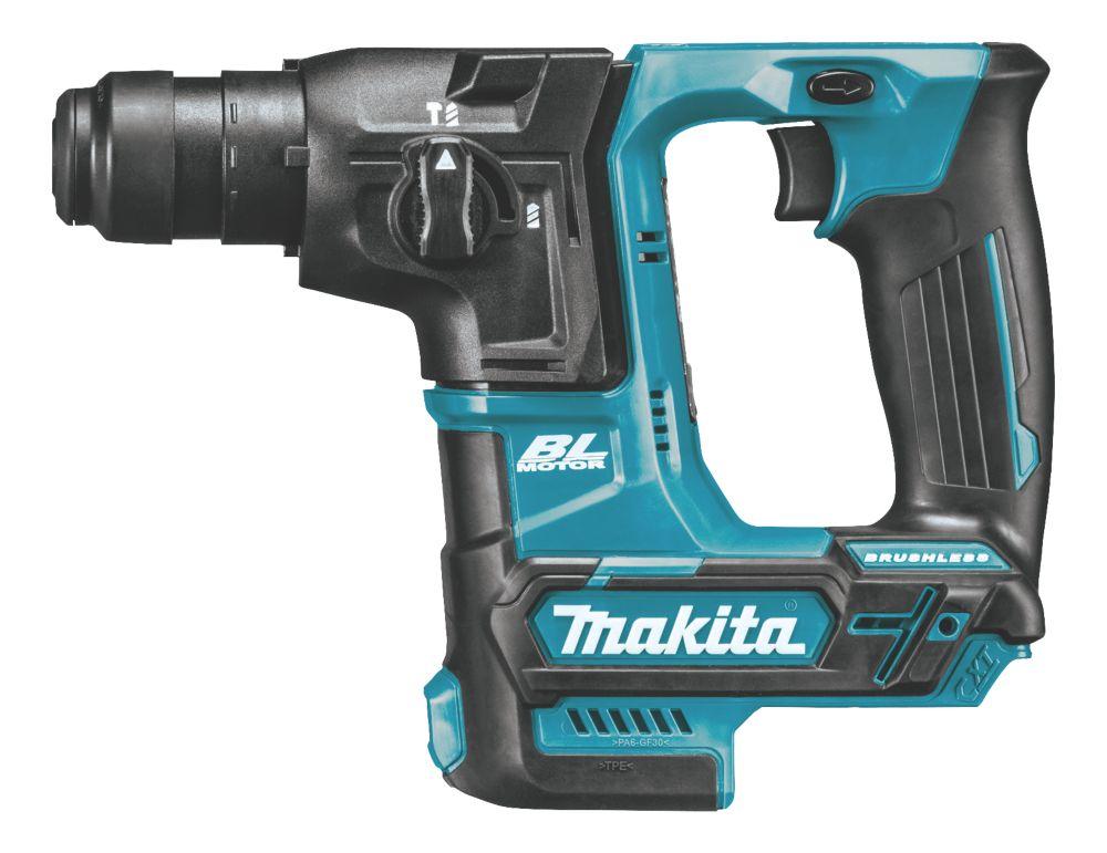 Makita HR166DZ 2kg 10.8 / 12V Li-Ion CXT Brushless Cordless SDS Hammer Drill - Bare