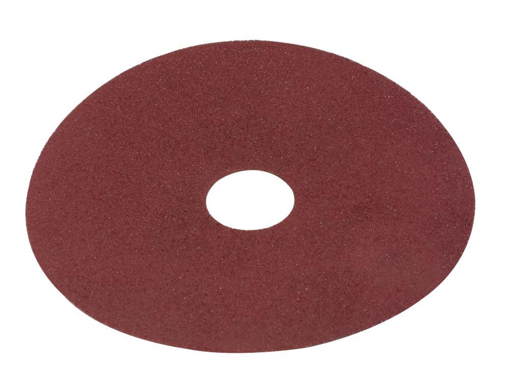 Fibre Discs 115 x 22.3mm 80 Grit 10 Pack