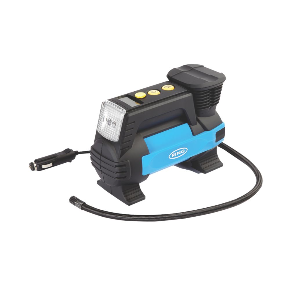 Ring  Metal Digital Air Compressor with Light 12V