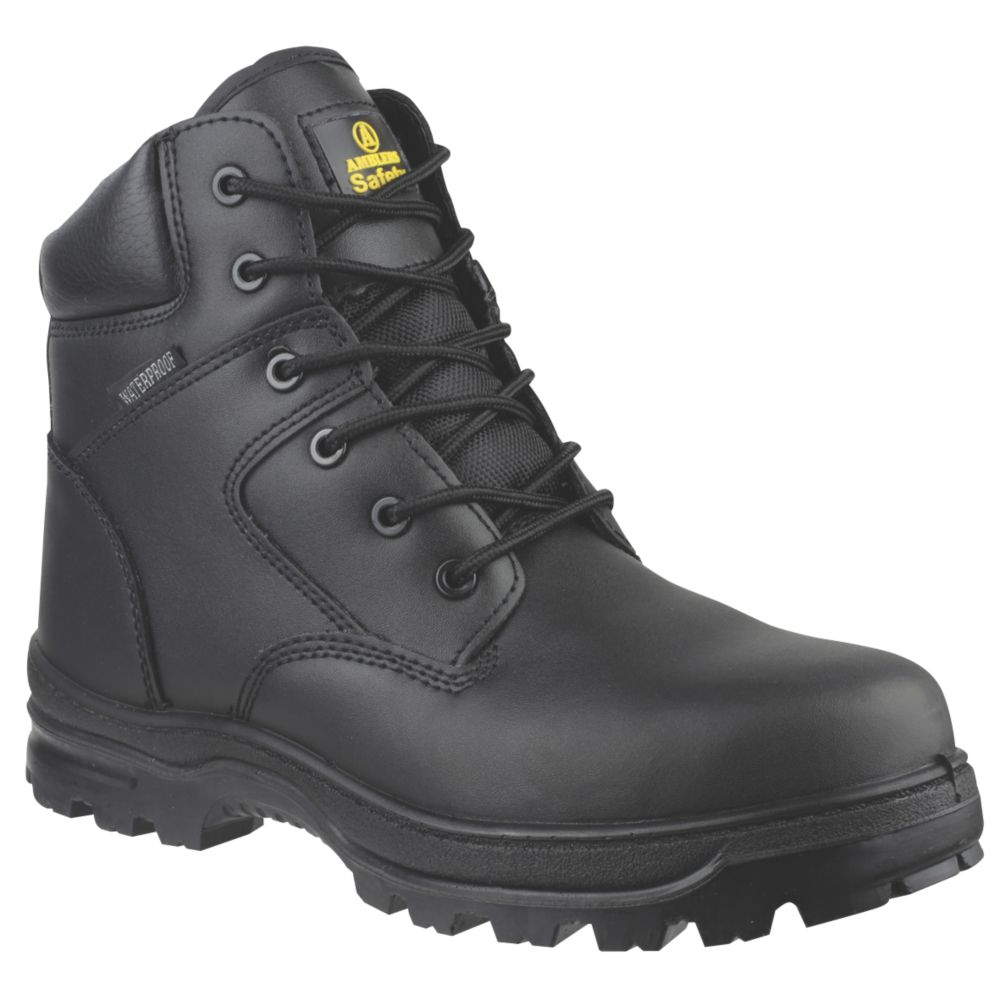 Amblers FS006C Metal Free  Safety Boots Black Size 5