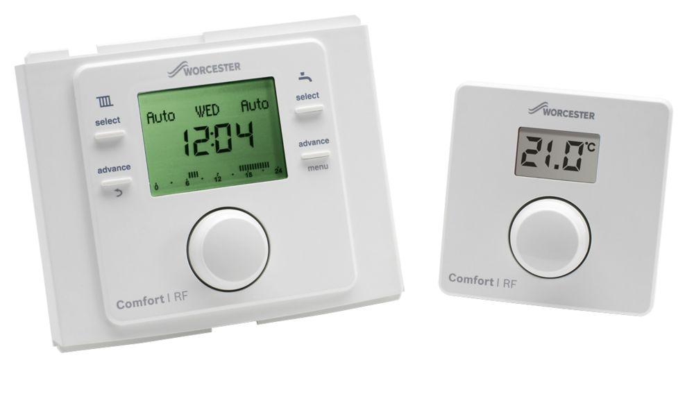 Worcester Bosch 7733600001 Comfort I Wireless Room Thermostat & Plug-In Programmer