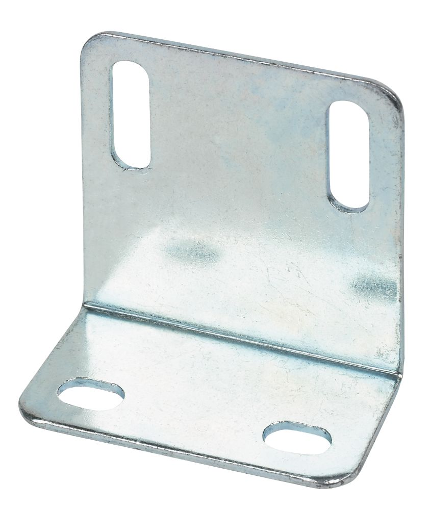 Large Angle Shrinkages Zinc-Plated 48 x 25 x 1.6mm 10 Pack