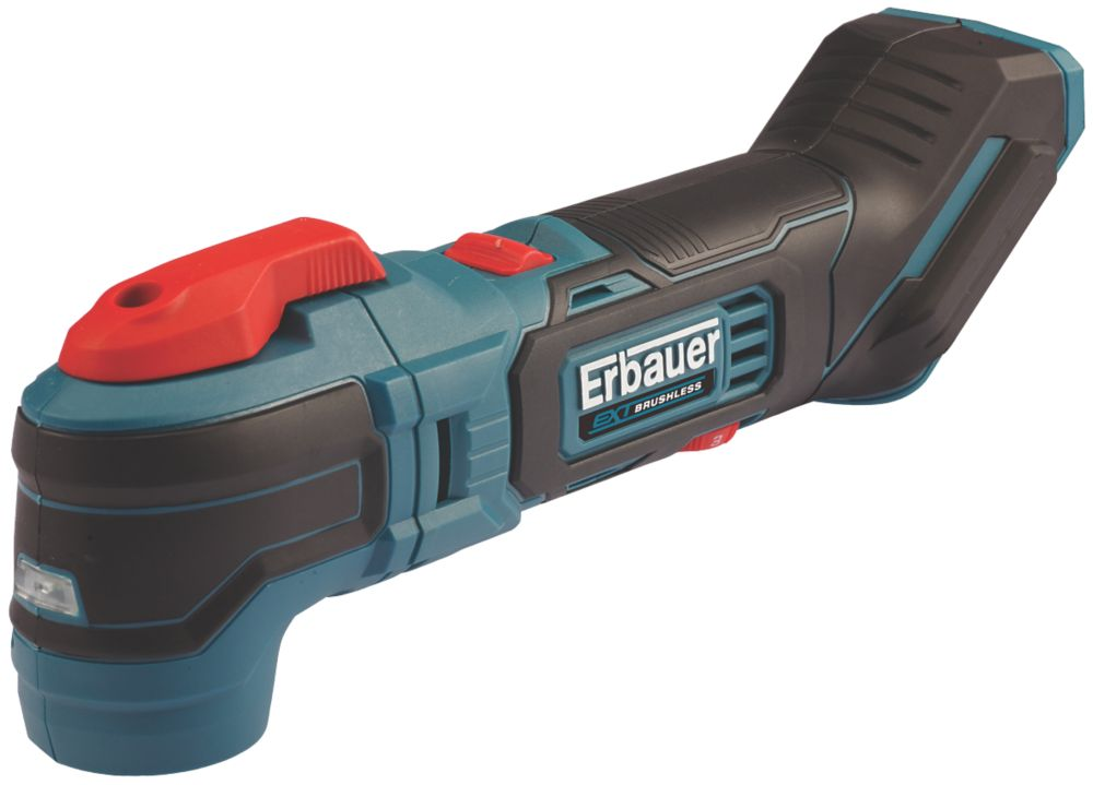 Erbauer EMT18-Li-QC 18V Li-Ion EXT Brushless Cordless Multi-Tool - Bare