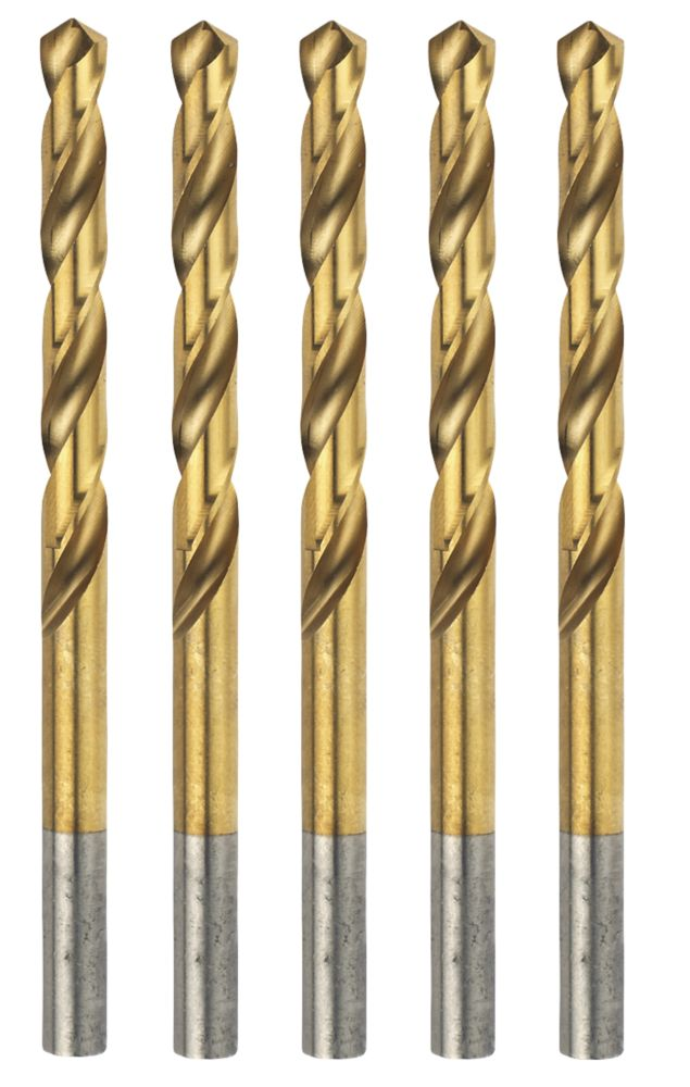 Erbauer  Ground HSS Drill Bits 4.5 x 80mm 5 Pack