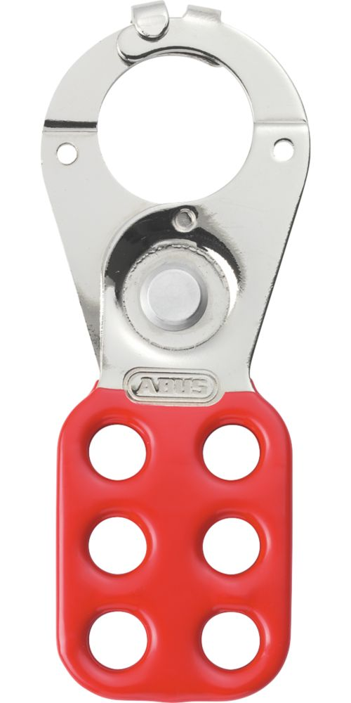 "Abus  1"" Red Steel Lockout Hasp"