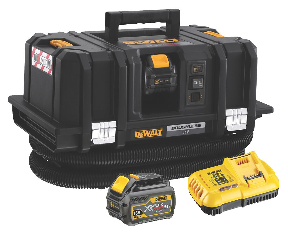 DeWalt DCV586MT2-GB 54V 6.0Ah Li-Ion XR FlexVolt Brushless Cordless M-Class Dust Extractor