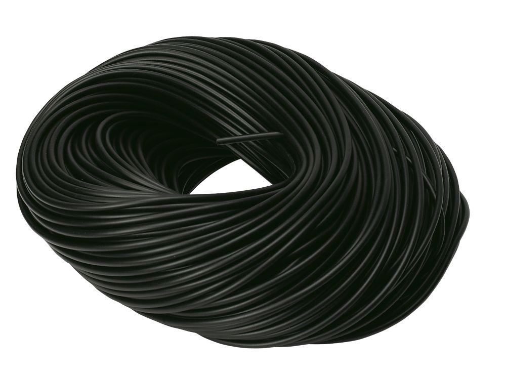 PVC Sleeving 3mm x 100m Black