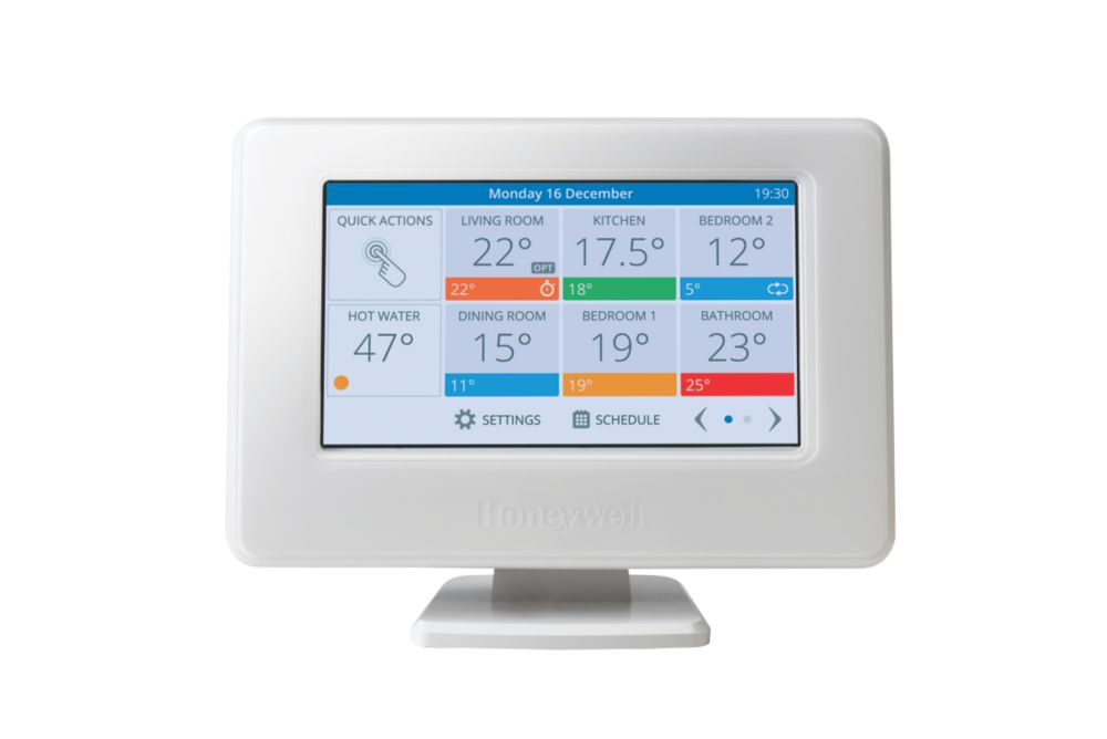 Honeywell Home Evohome Wi-Fi Connected Thermostat Pack