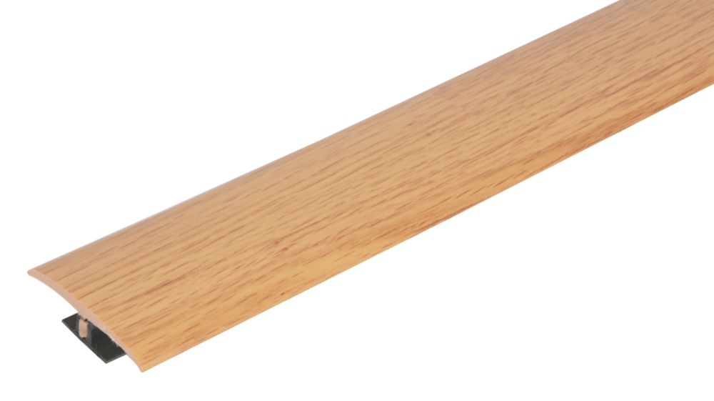 Vitrex Light Oak Variable Height Wood/Laminate Floor Threshold 0.9m