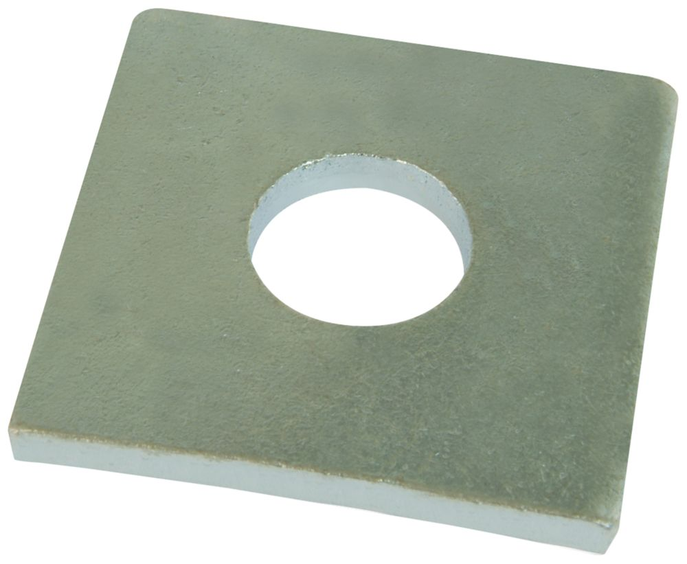 Easyfix Steel Square Washers M12 x 4mm 50 Pack