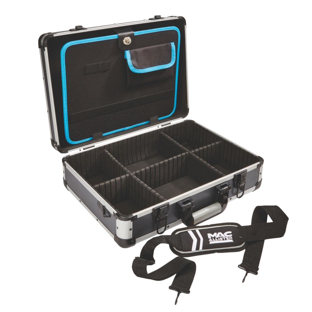 "Mac Allister  Aluminium Organiser Case 18 x 12½"""