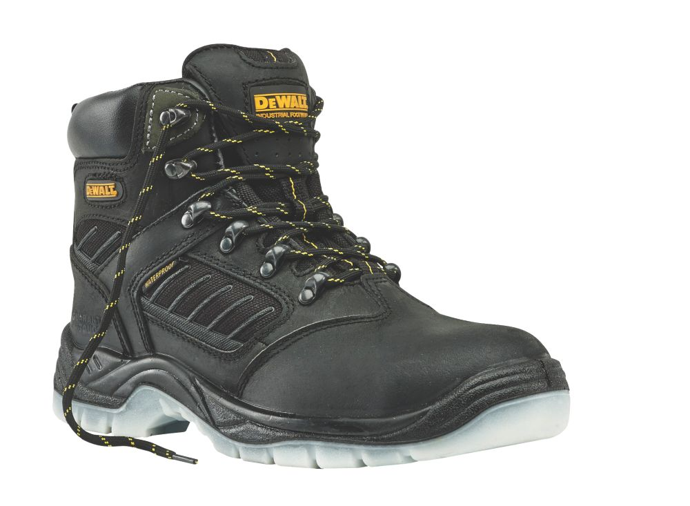 DeWalt Recip   Safety Boots Black Size 12
