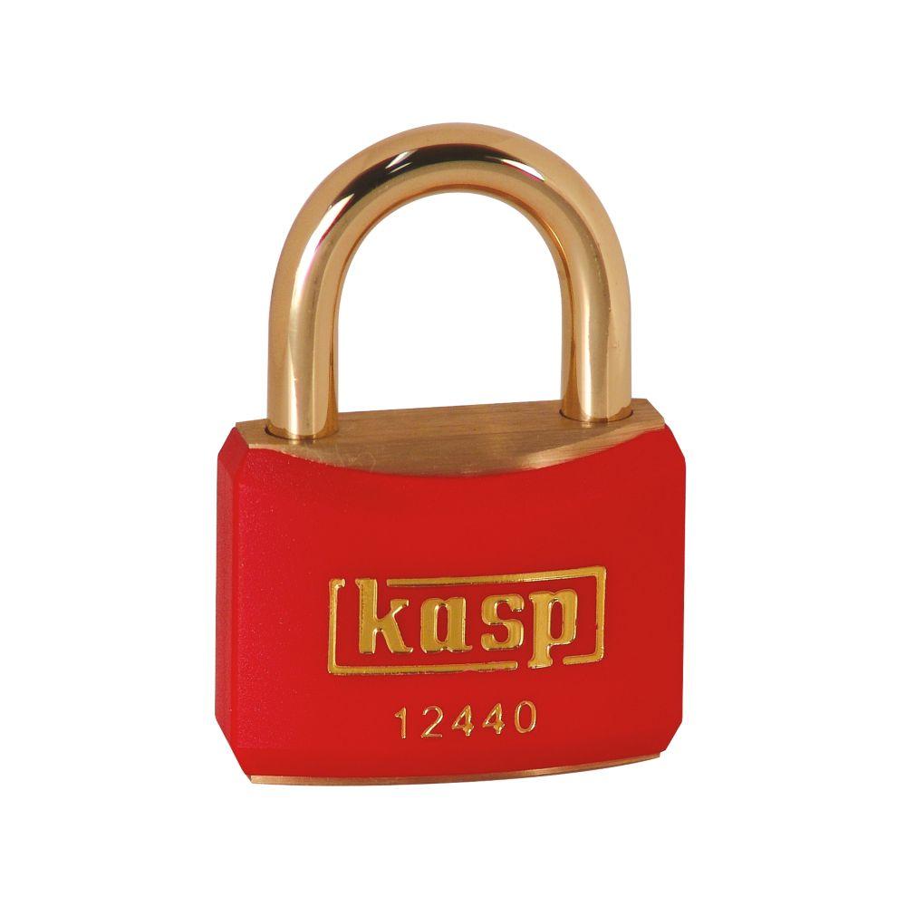 Kasp  Lockout Padlock Red 20 x 21mm
