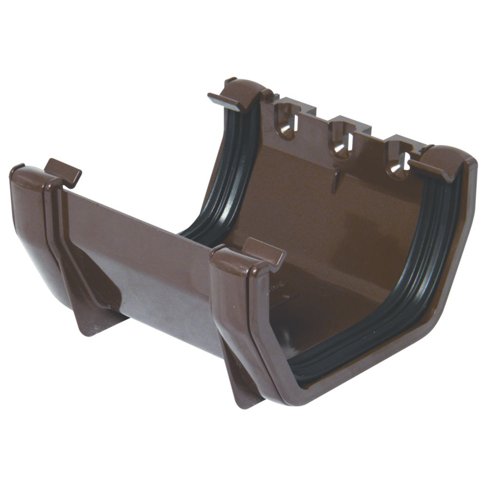 FloPlast  Union Bracket 114mm Brown