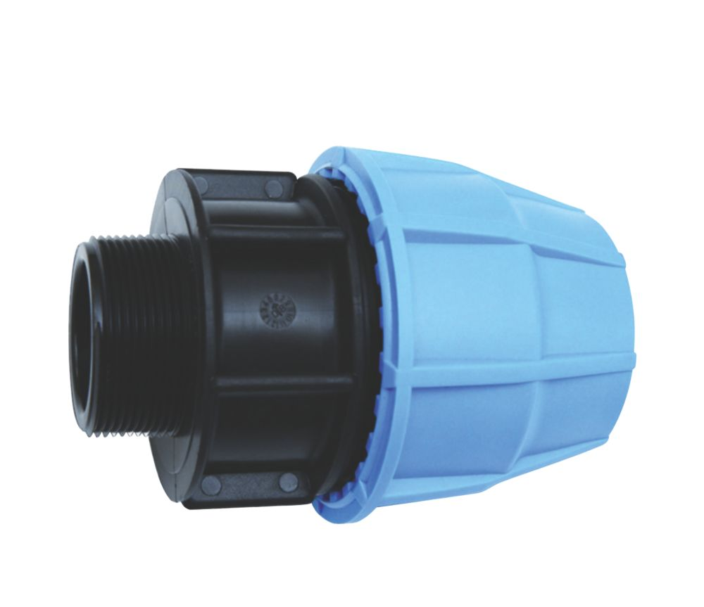 "FloPlast  Male Pipe Adaptor 20mm x ¾"""