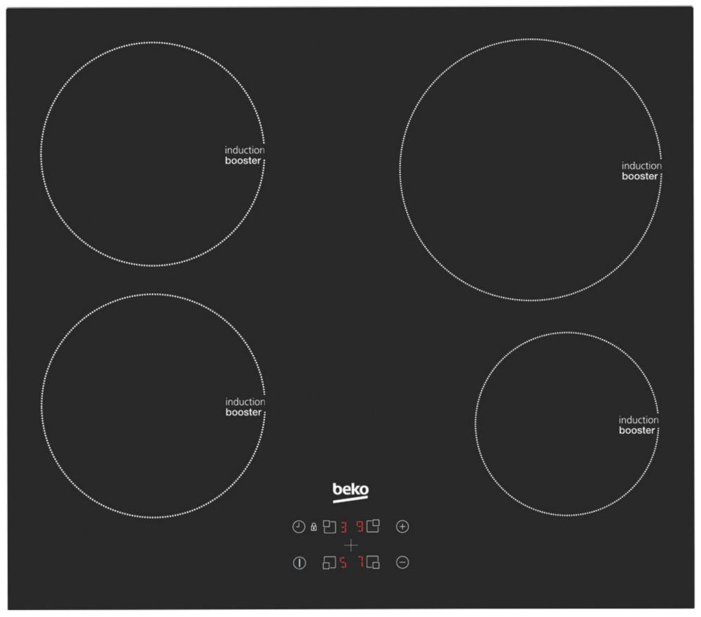 Beko HQI 64400 AT  Hob Black 55 x 580mm