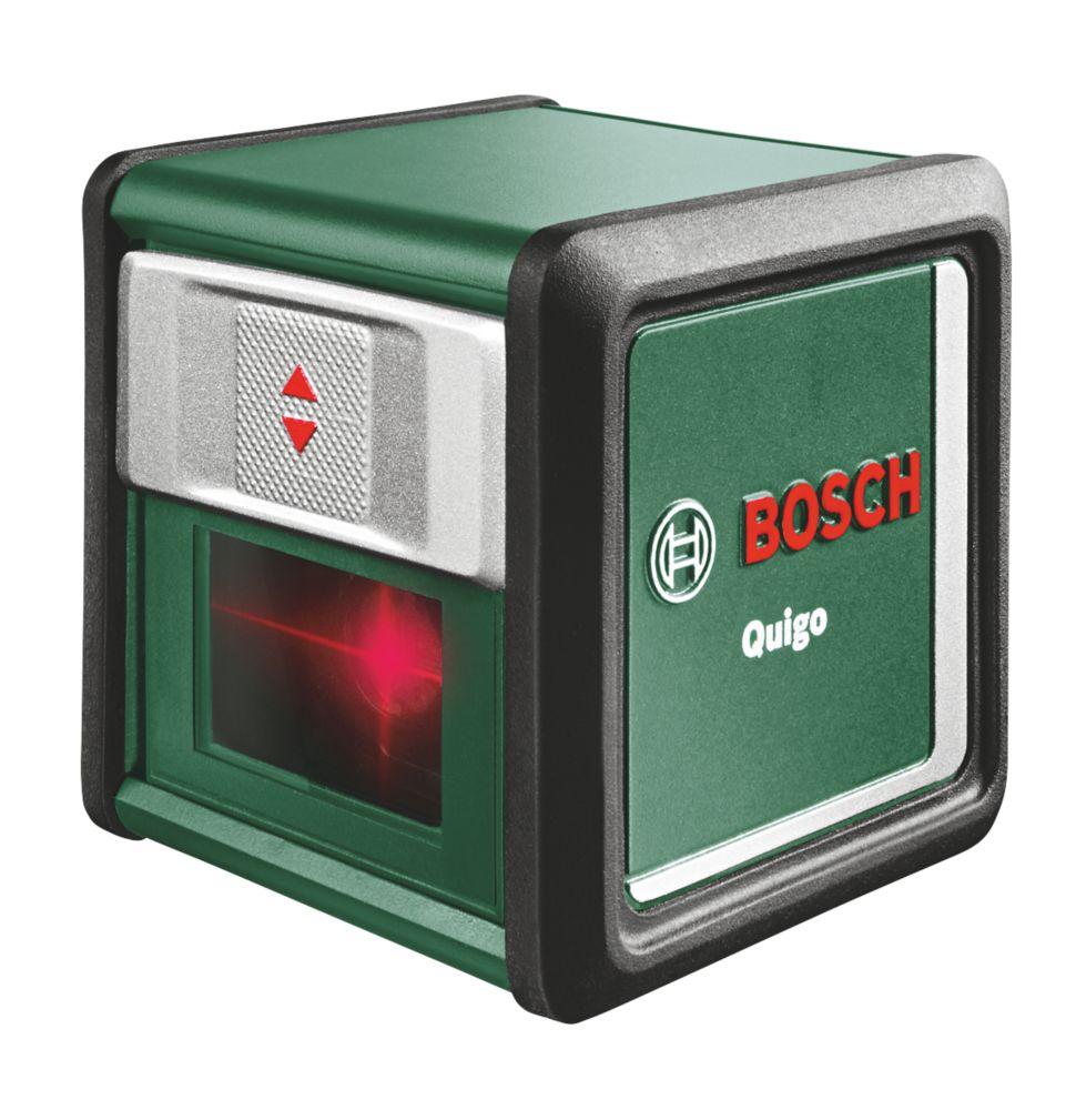 Bosch Quigo Self-Levelling Cross Line Red Beam Laser