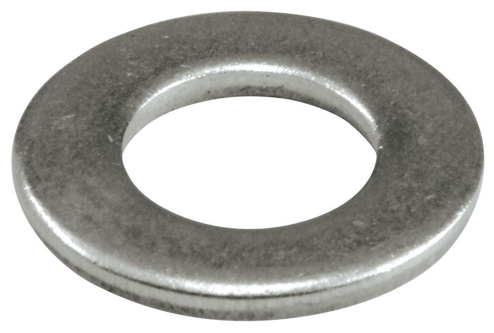 Easyfix A2 Stainless Steel Flat Washers M4 x 0.8mm 100 Pack