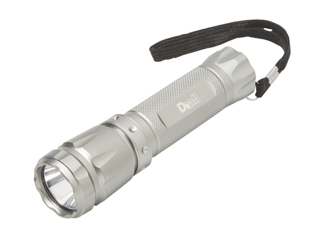Diall GSUF006 Aluminium LED Torch 3 x AAA