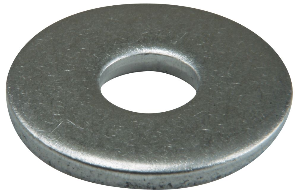 Easyfix A2 Stainless Steel Large Flat Washers M5 x 1.2mm 50 Pack