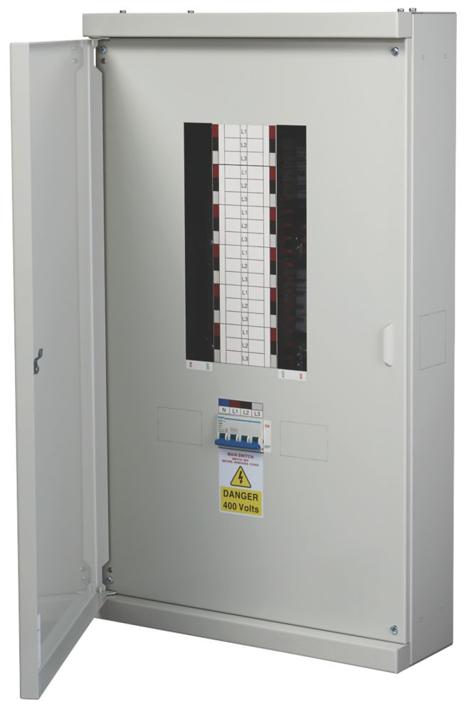 Chint Nxdb 12-Way 125A TP & N Meter Ready 3-Phase Distribution Board