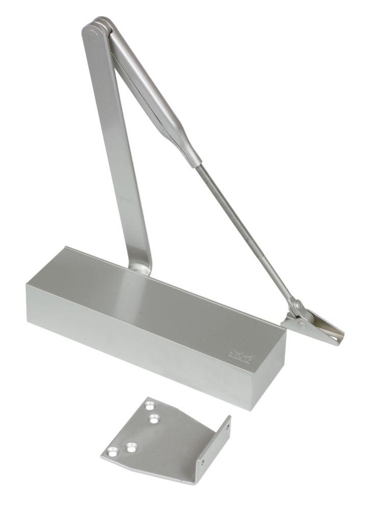 Dorma TS71 Overhead Door Closer Silver