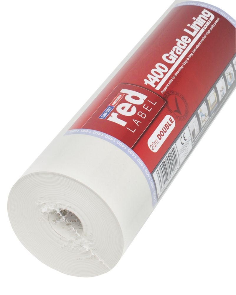 Erfurt Red Label Double Lining Paper Natural 560mm x 20m