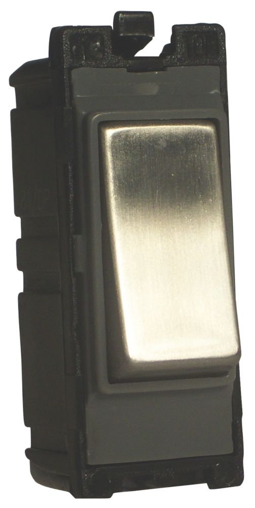 Varilight Z2DG102SS 10A 2-Way Switch Metal